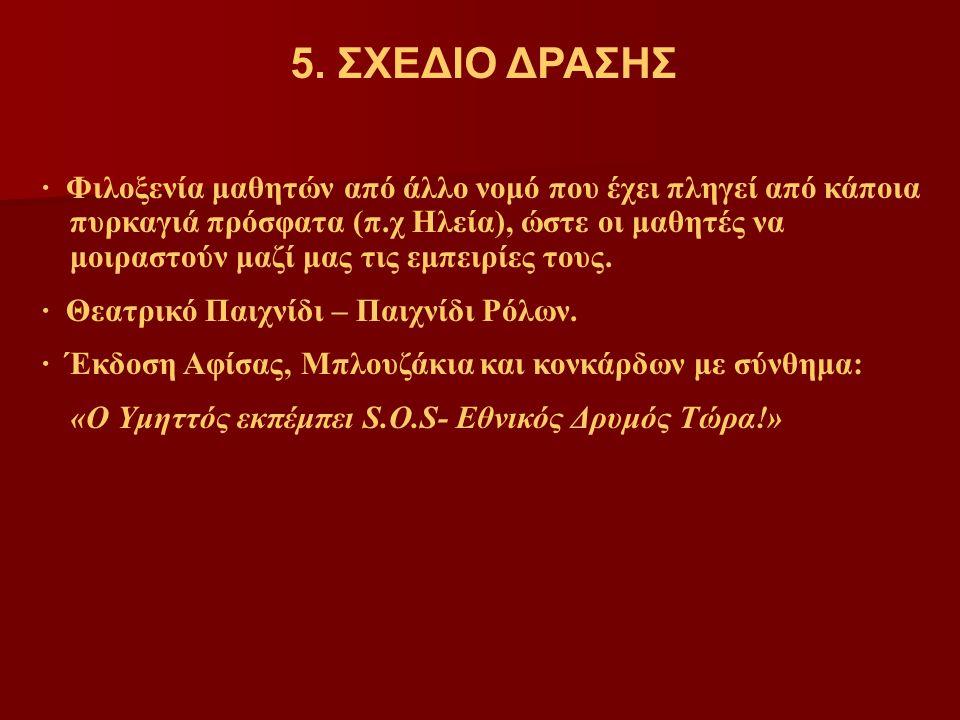 5. ΣΧΕΔΙΟ ΔΡΑΣΗΣ