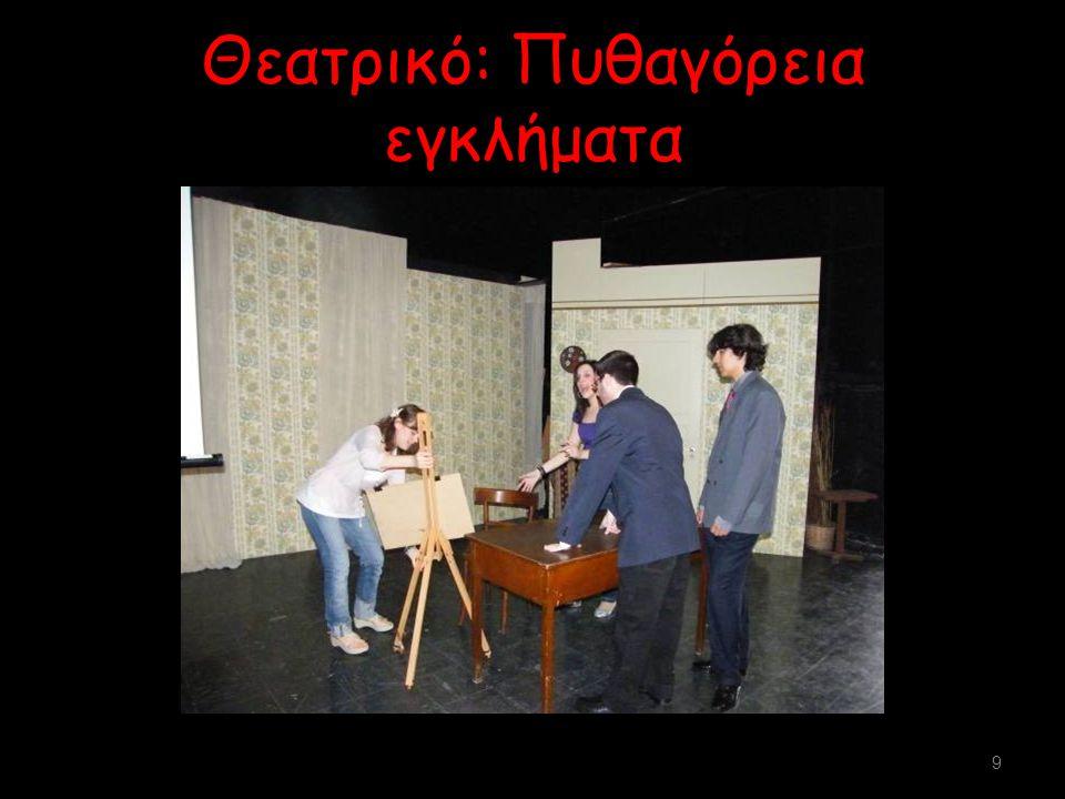 Θεατρικό: Πυθαγόρεια εγκλήματα