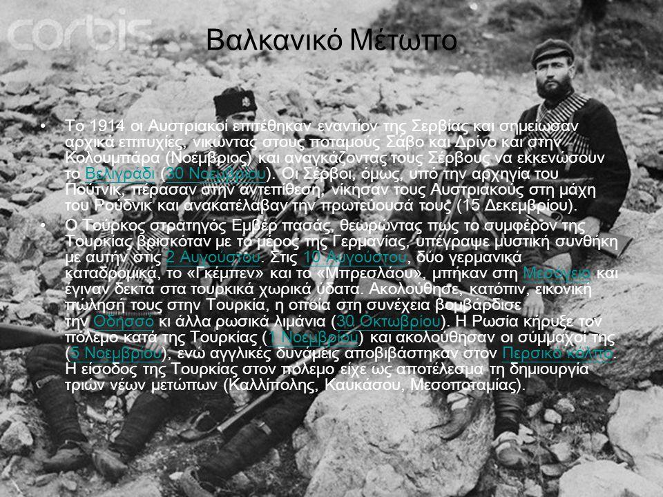 Βαλκανικό Μέτωπο