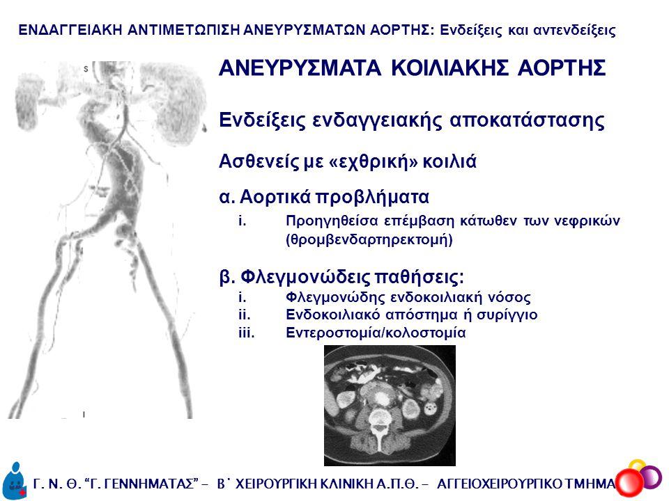 ΑΝΕΥΡΥΣΜΑΤΑ ΚΟΙΛΙΑΚΗΣ ΑΟΡΤΗΣ