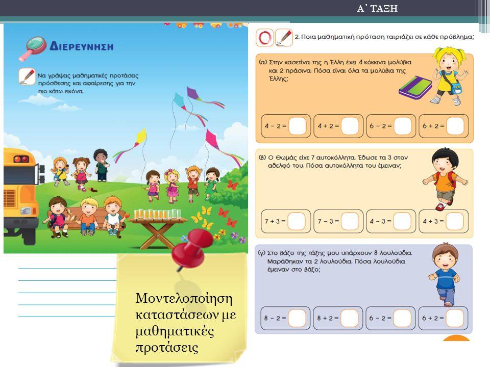 Μοντελοποίηση καταστάσεων με μαθηματικές προτάσεις