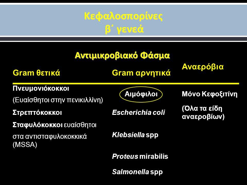 Κεφαλοσπορίνες β΄ γενεά