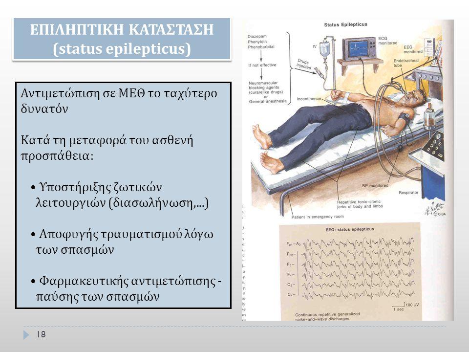 ΕΠΙΛΗΠΤΙΚΗ ΚΑΤΑΣΤΑΣΗ (status epilepticus)