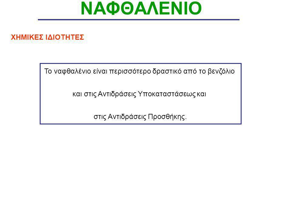 ΝΑΦΘΑΛΕΝΙΟ ΧΗΜΙΚΕΣ ΙΔΙΟΤΗΤΕΣ