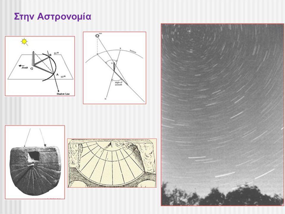 Στην Αστρονομία