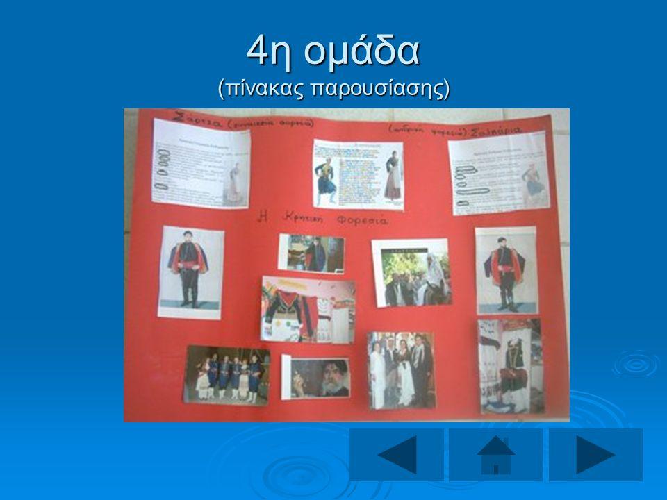 4η ομάδα (πίνακας παρουσίασης)