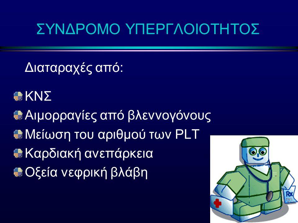 ΣΥΝΔΡΟΜΟ ΥΠΕΡΓΛΟΙΟΤΗΤΟΣ