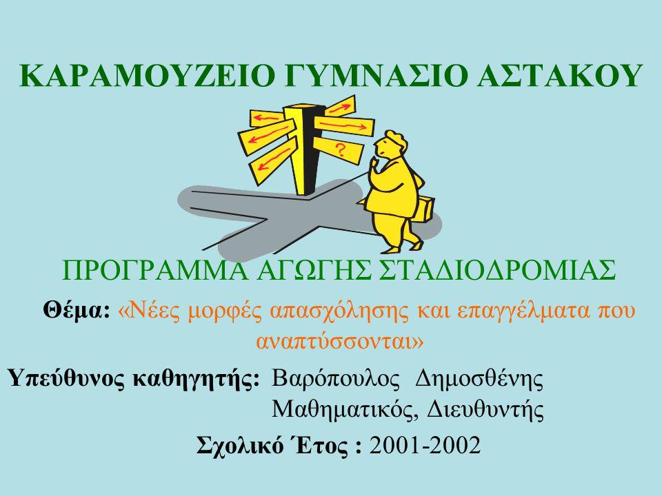 ΚΑΡΑΜΟΥΖΕΙΟ ΓΥΜΝΑΣΙΟ ΑΣΤΑΚΟΥ