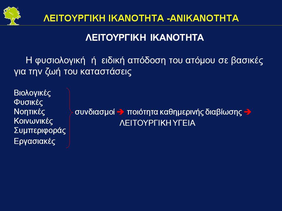 ΛΕΙΤΟΥΡΓΙΚΗ ΙΚΑΝΟΤΗΤΑ