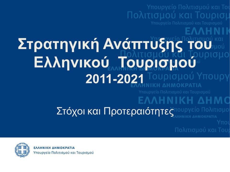 Στρατηγική Ανάπτυξης του Ελληνικού Τουρισμού