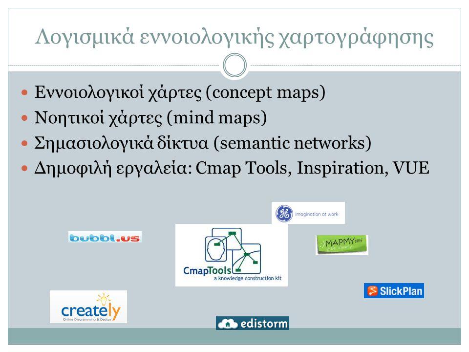 Λογισμικά εννοιολογικής χαρτογράφησης