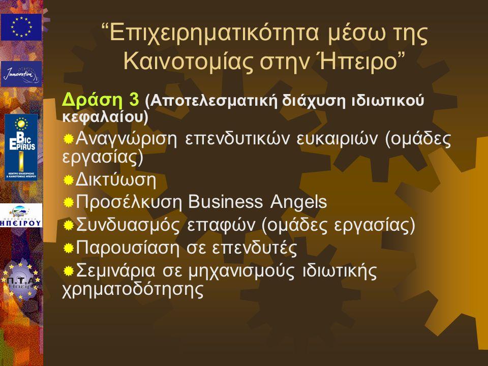 Επιχειρηματικότητα μέσω της Καινοτομίας στην Ήπειρο
