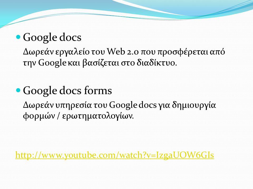 Google docs Google docs forms