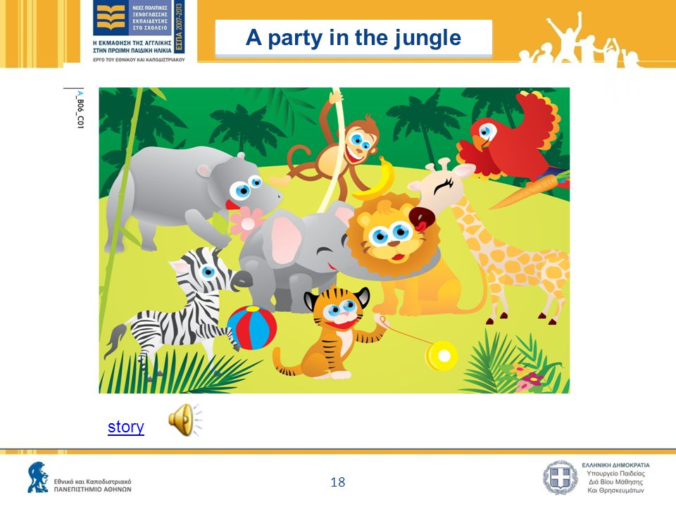 A party in the jungle story