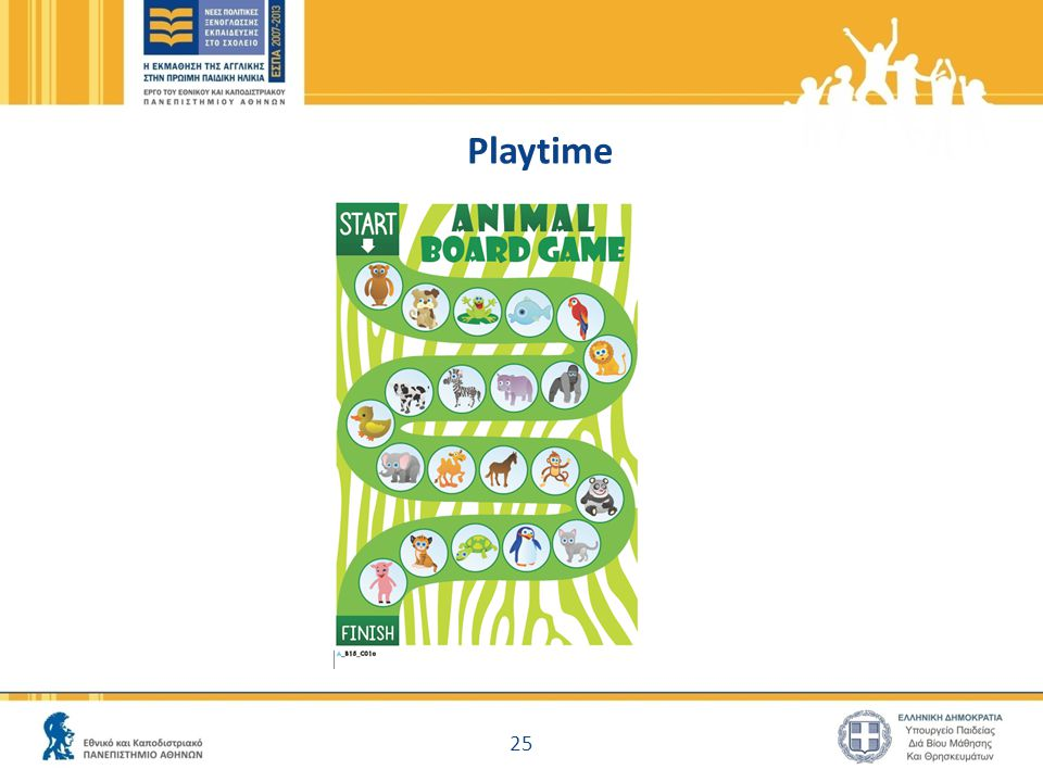 Playtime 25