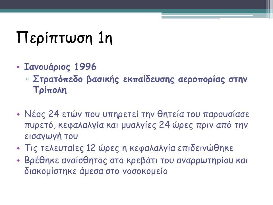 Περίπτωση 1η Ιανουάριος 1996