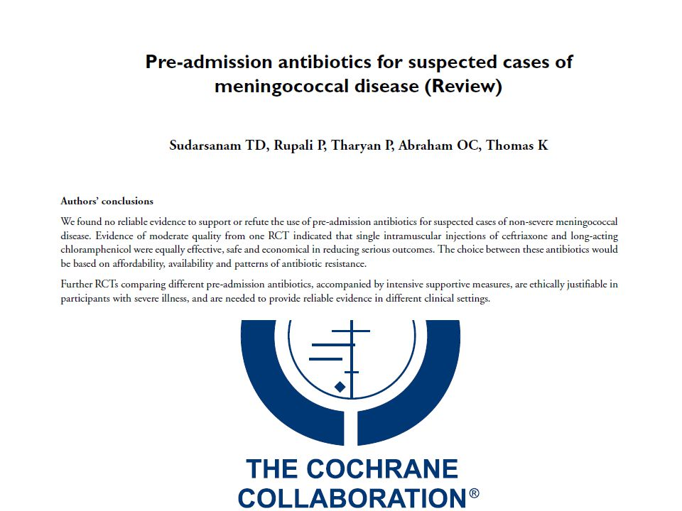 Update on Meningococcal Disease