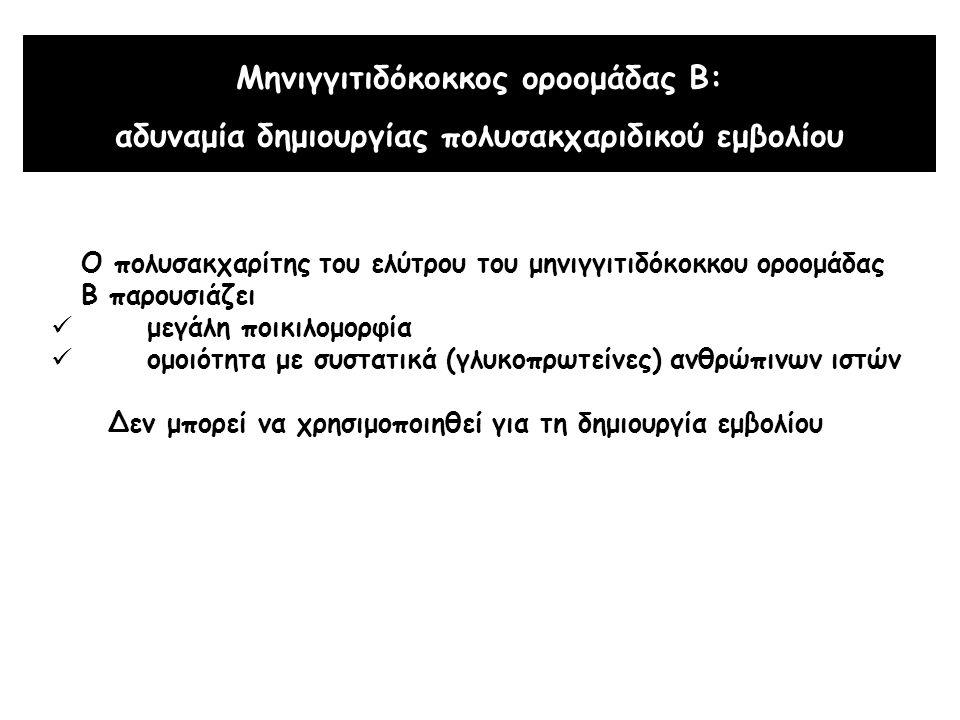 Μηνιγγιτιδόκοκκος οροομάδας Β: