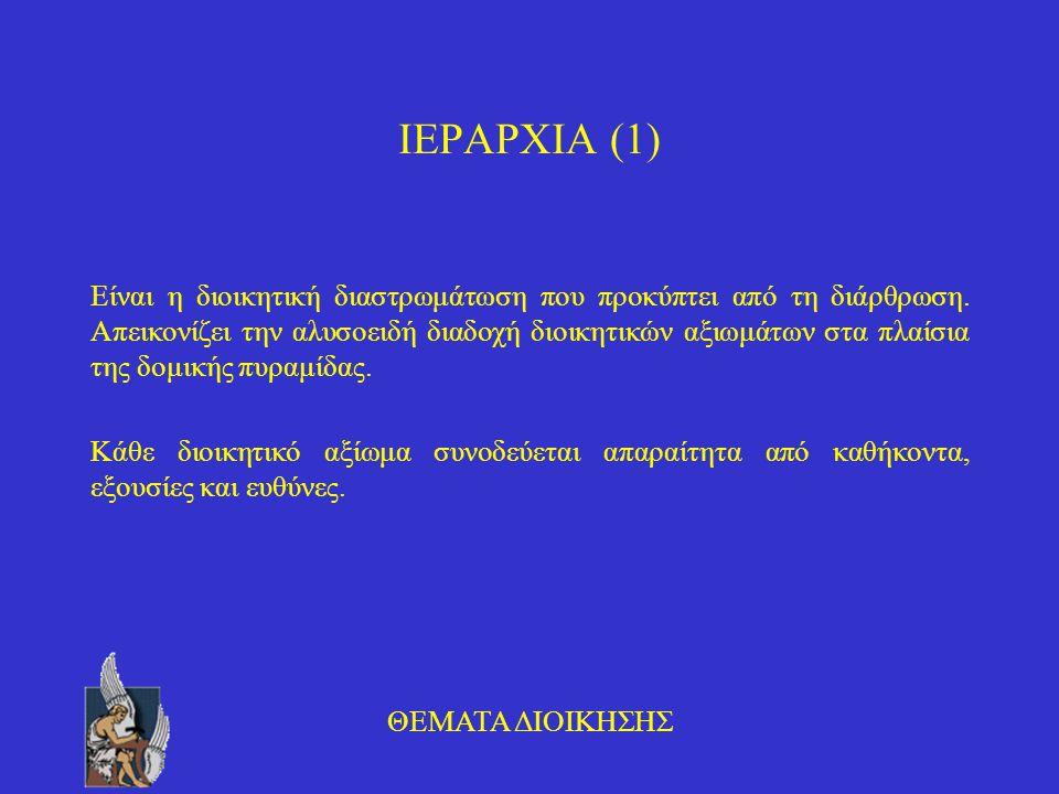 ΙΕΡΑΡΧΙΑ (1)