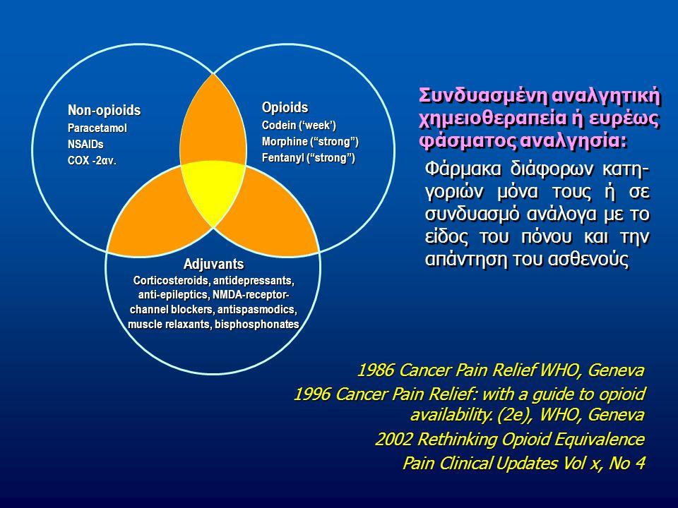 Συνδυασμένη αναλγητική χημειοθεραπεία ή ευρέως φάσματος αναλγησία: