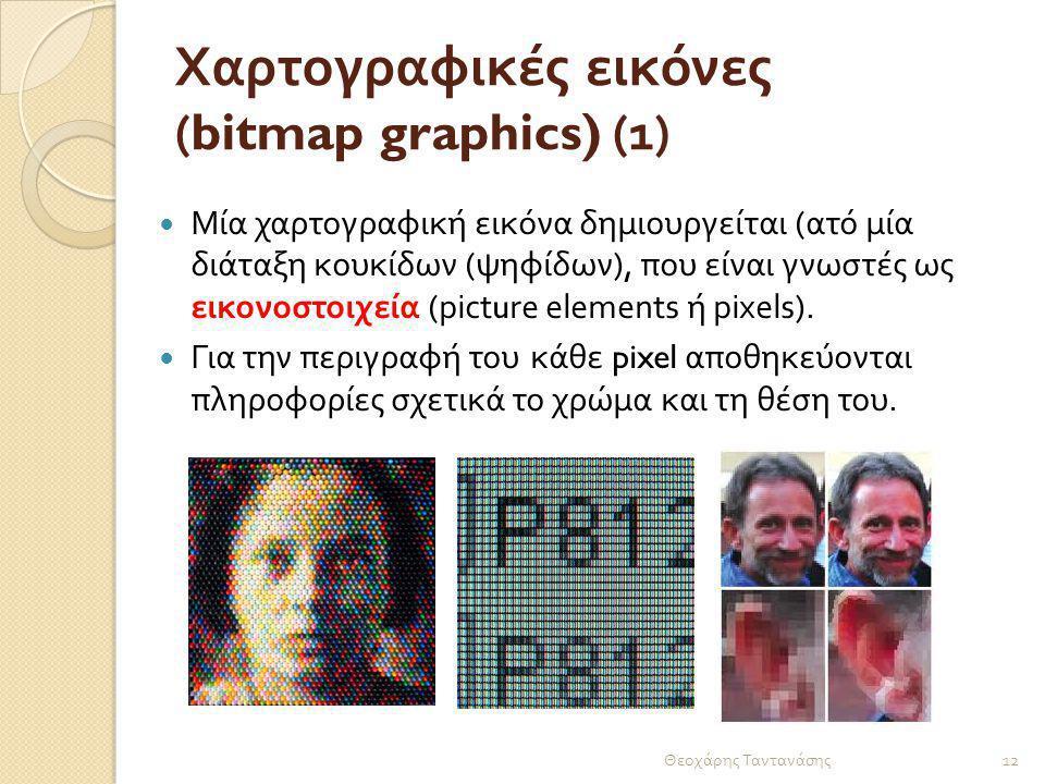 Χαρτογραφικές εικόνες (bitmap graphics) (1)