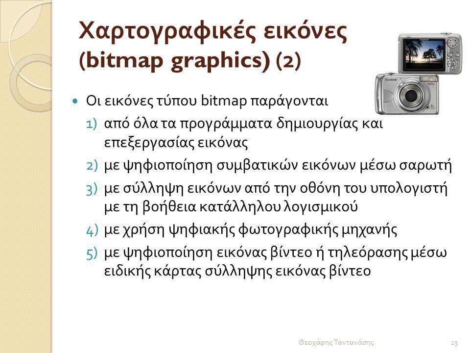 Χαρτογραφικές εικόνες (bitmap graphics) (2)