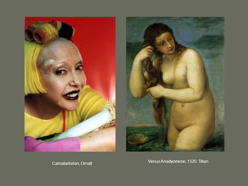 Venus Anadyomene, 1520, Titian