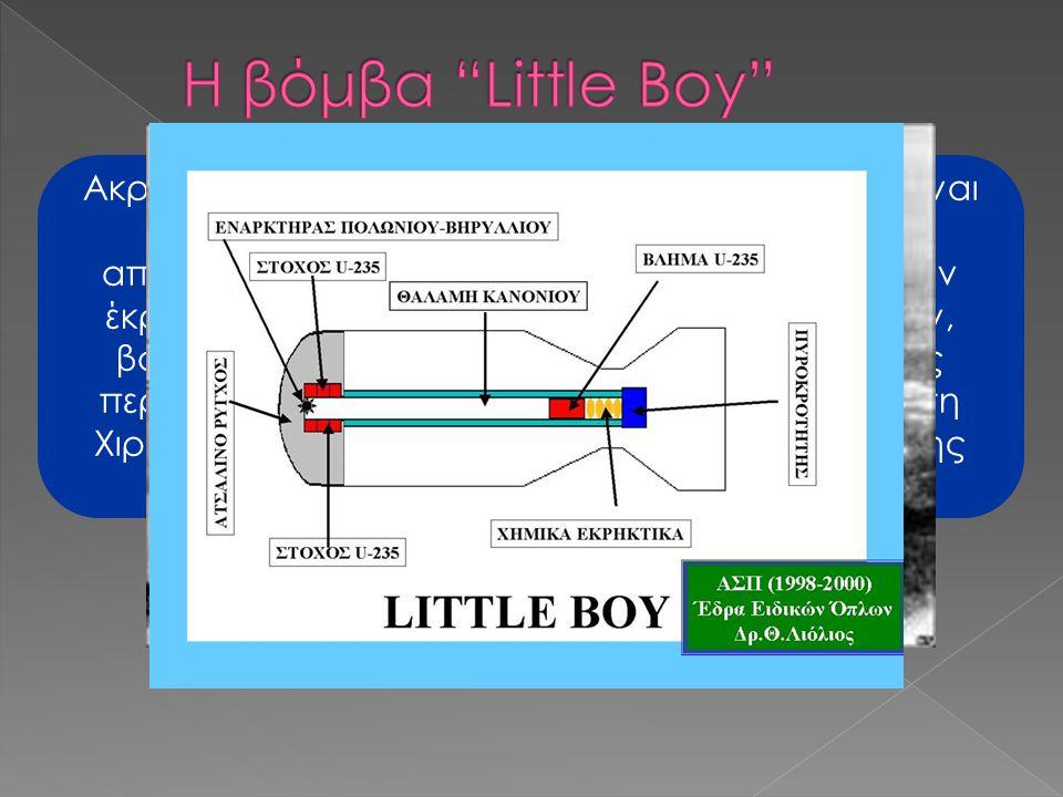 Η βόμβα Little Boy