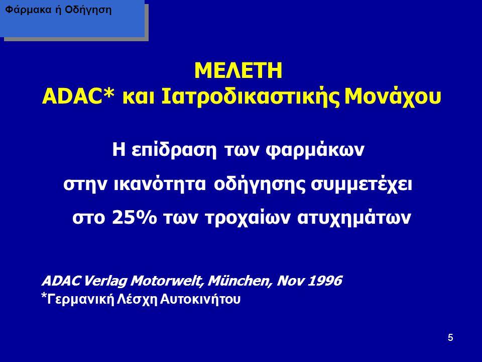 MEΛETH ADAC* και Ιατροδικαστικής Μονάχου