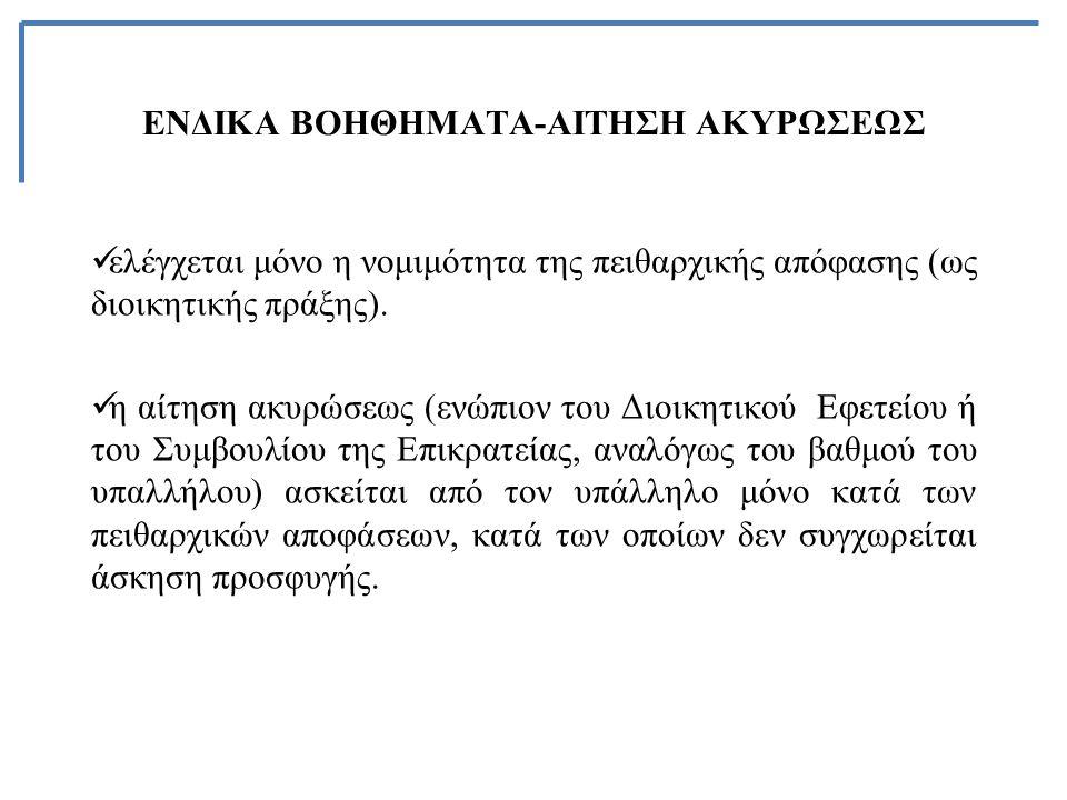 ΕΝΔΙΚΑ ΒΟΗΘΗΜΑΤΑ-ΑΙΤΗΣΗ ΑΚΥΡΩΣΕΩΣ