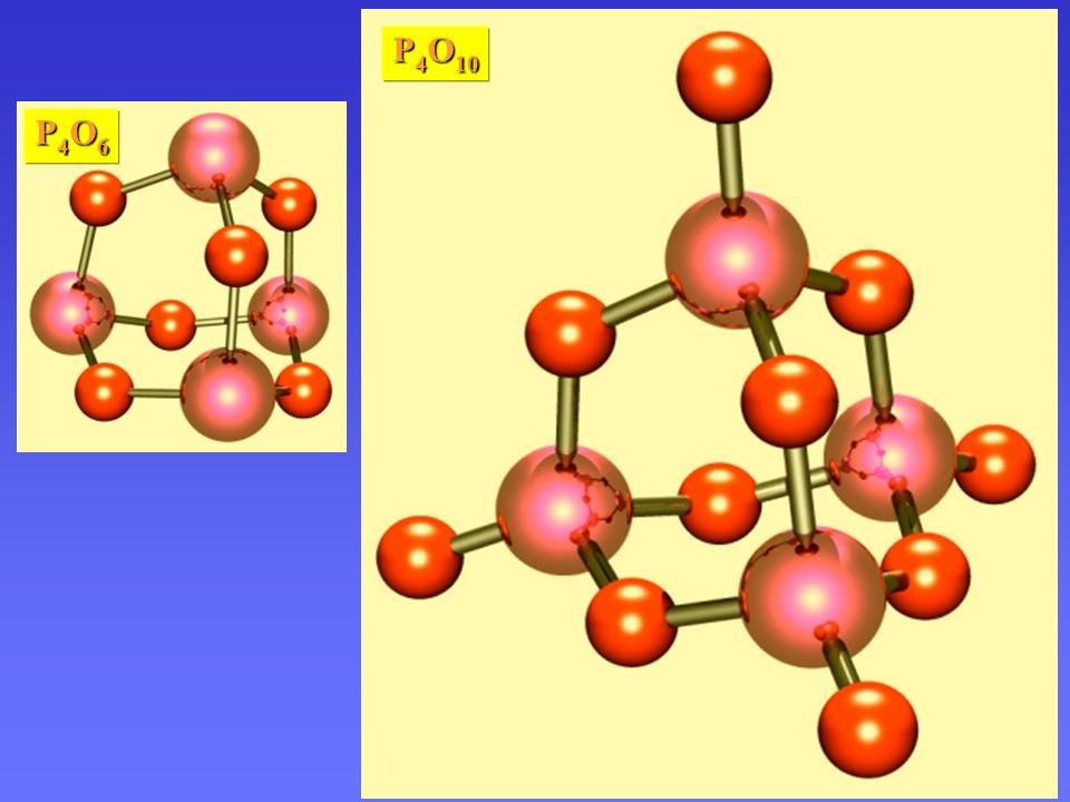 P4O10 Oxidy fosforu P4O6 P4O7 P4O8 P4O9 P4O10