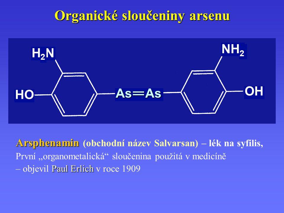 Organické sloučeniny arsenu