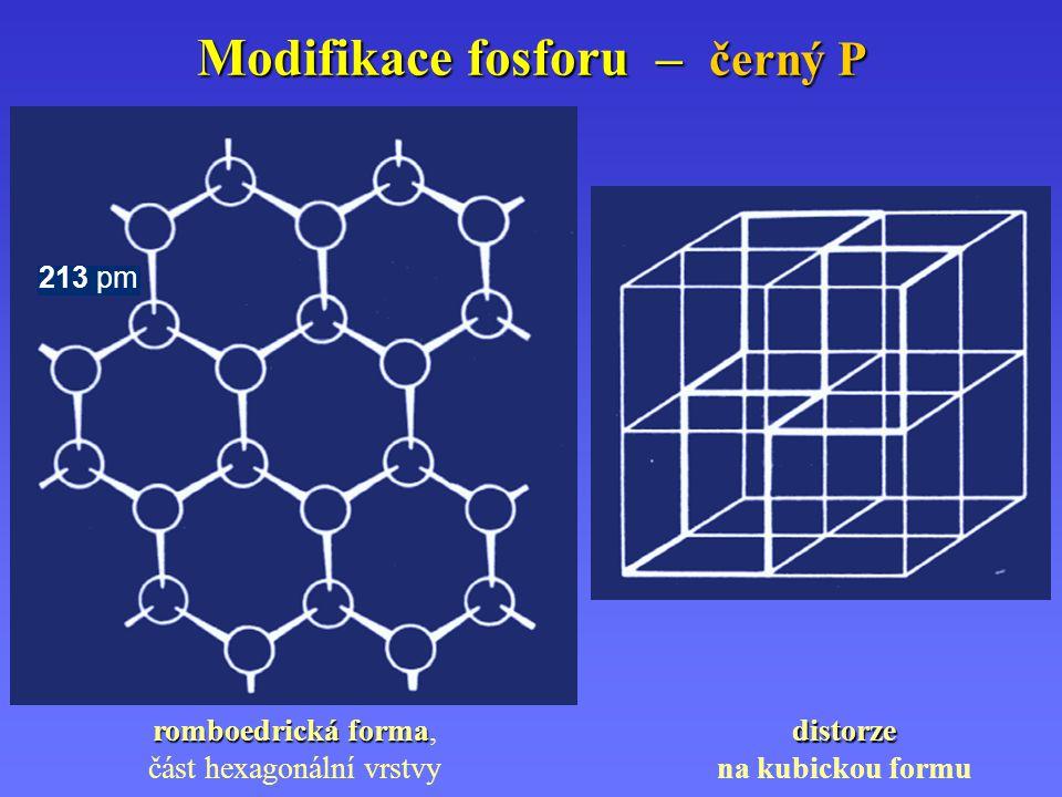 Modifikace fosforu – černý P
