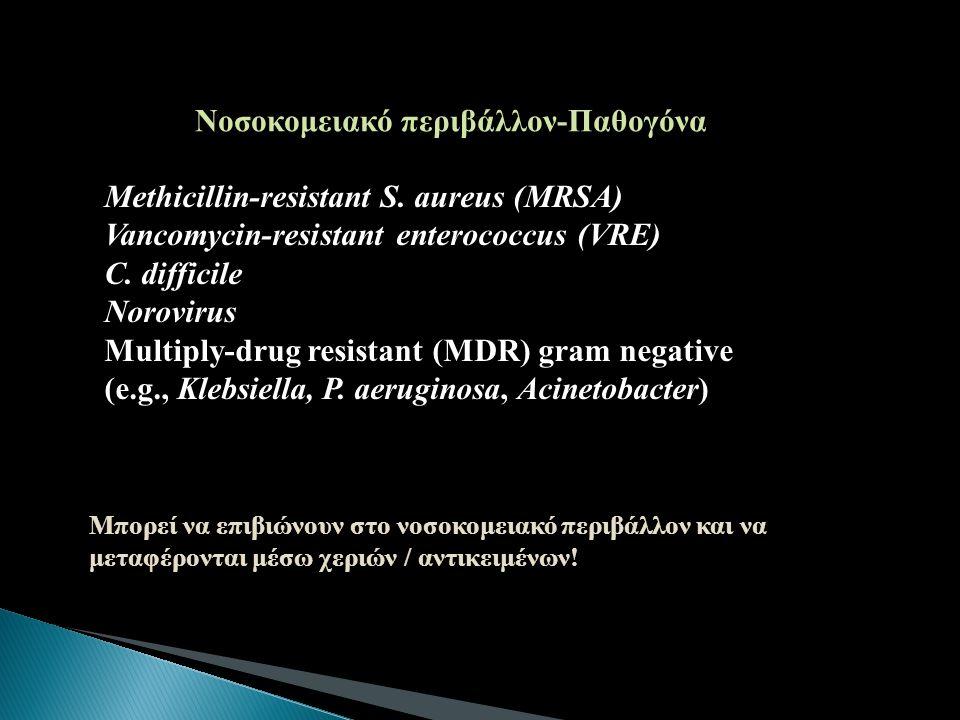Νοσοκομειακό περιβάλλον-Παθογόνα