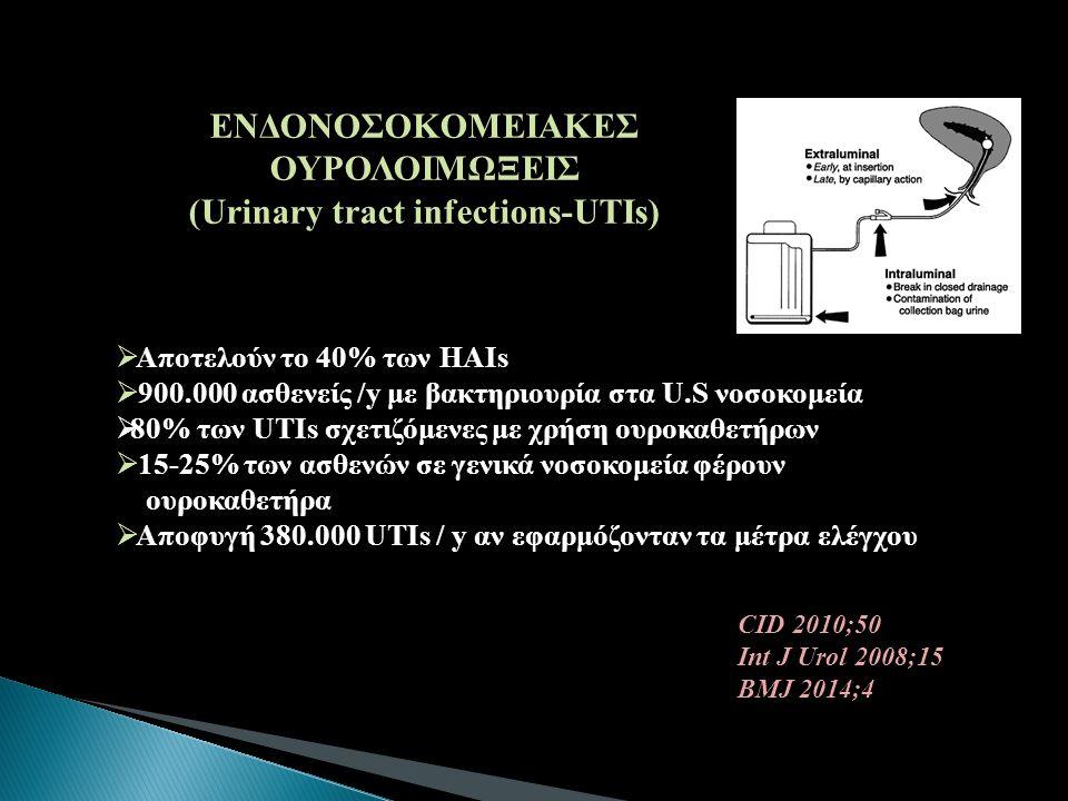 ΕΝΔΟΝΟΣΟΚΟΜΕΙΑΚΕΣ ΟΥΡΟΛΟΙΜΩΞΕΙΣ (Urinary tract infections-UTIs)