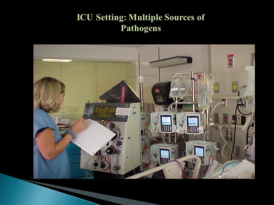 ICU Setting: Multiple Sources of Pathogens