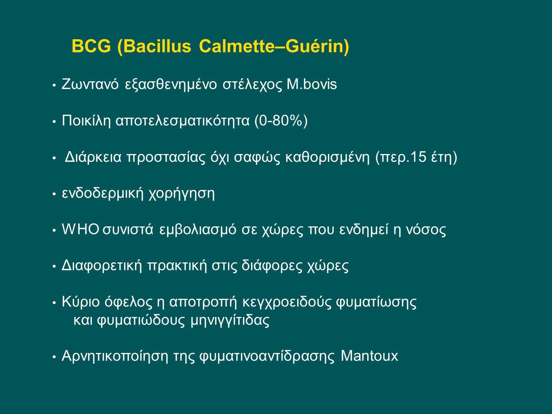 BCG (Bacillus Calmette–Guérin)