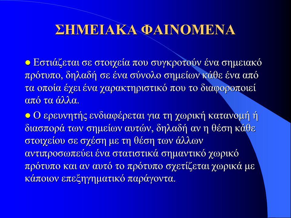 ΣΗΜΕΙΑΚΑ ΦΑΙΝΟΜΕΝΑ