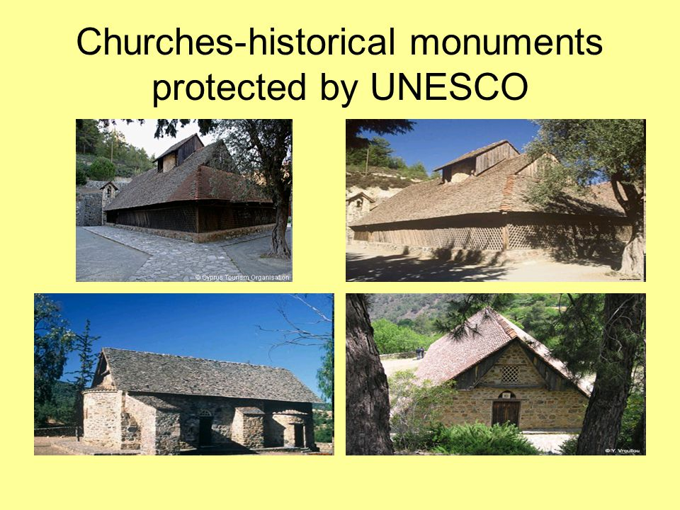 Churches-historical monuments protected by UNESCO