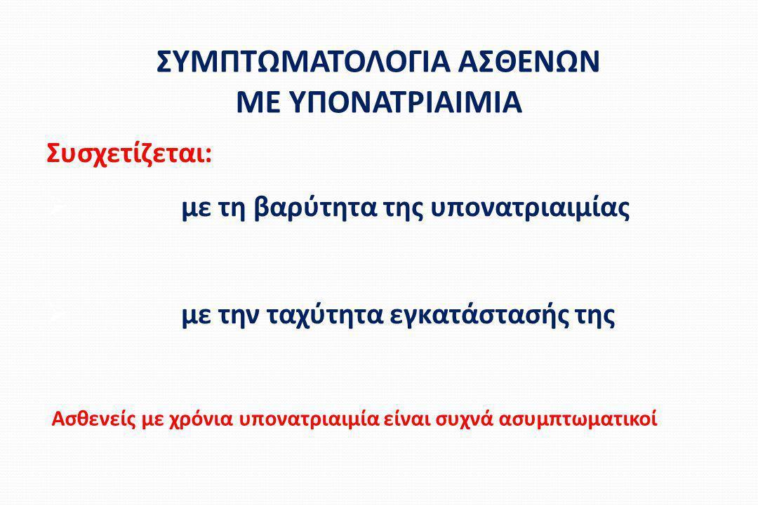 ΣΥΜΠΤΩΜΑΤΟΛΟΓΙΑ ΑΣΘΕΝΩΝ