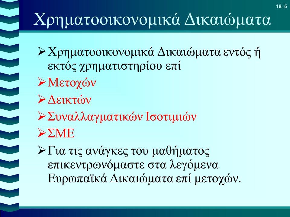 Χρηματοοικονομικά Δικαιώματα