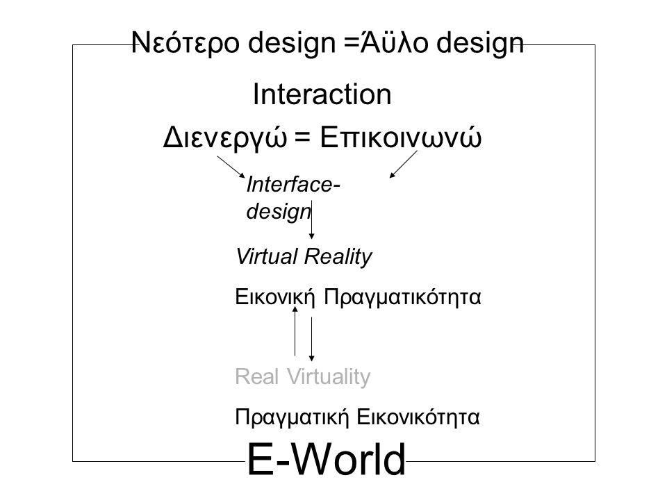Νεότερο design =Άϋλο design