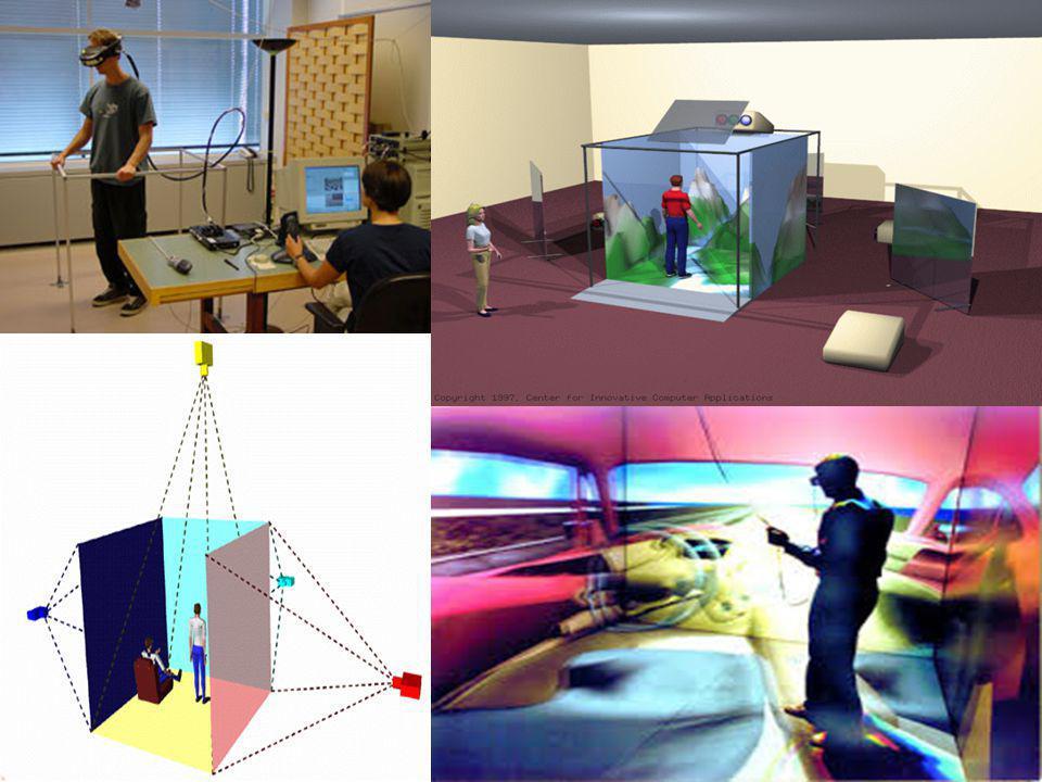 Κατηγορίες συστημάτων εικονικής πραγματικότητας