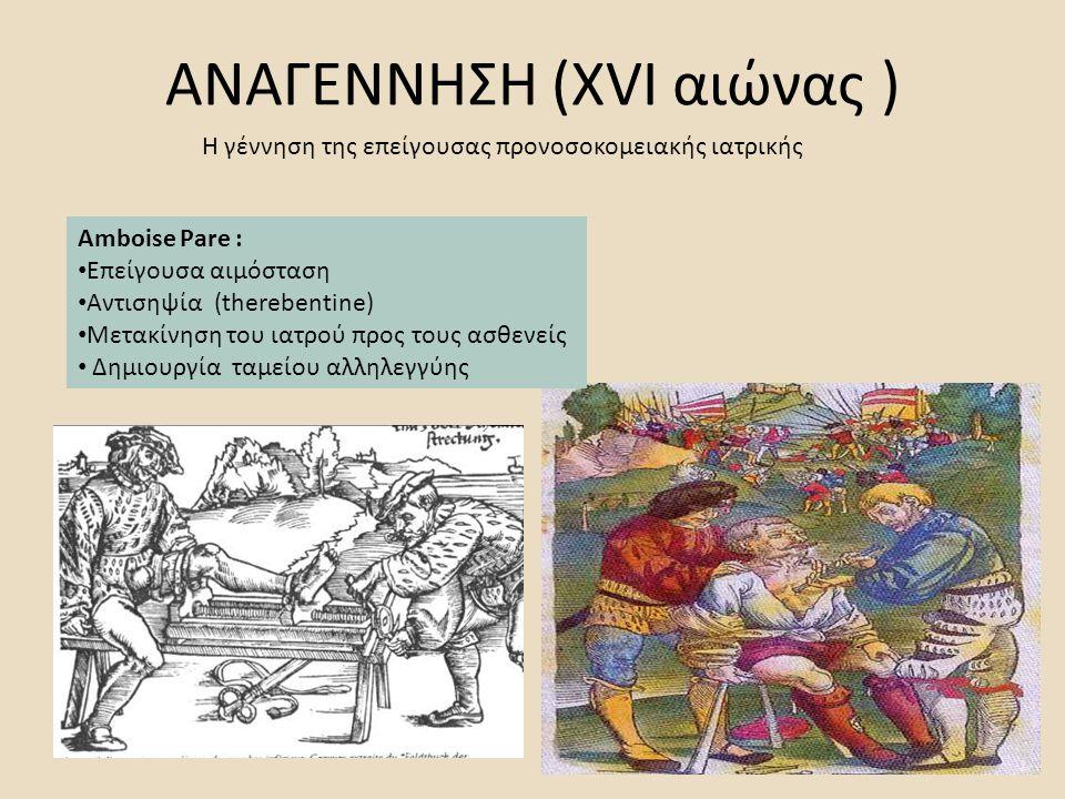 ΑΝΑΓΕΝΝΗΣΗ (XVI αιώνας )