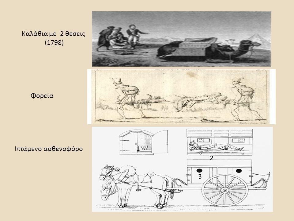 Καλάθια με 2 θέσεις (1798) Φορεία Ιπτάμενο ασθενοφόρο 1 2 3