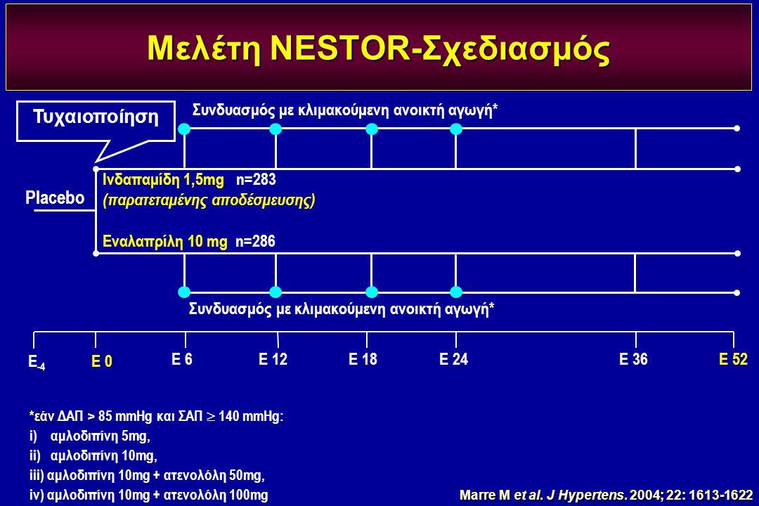 Μελέτη NESTOR-Σχεδιασμός