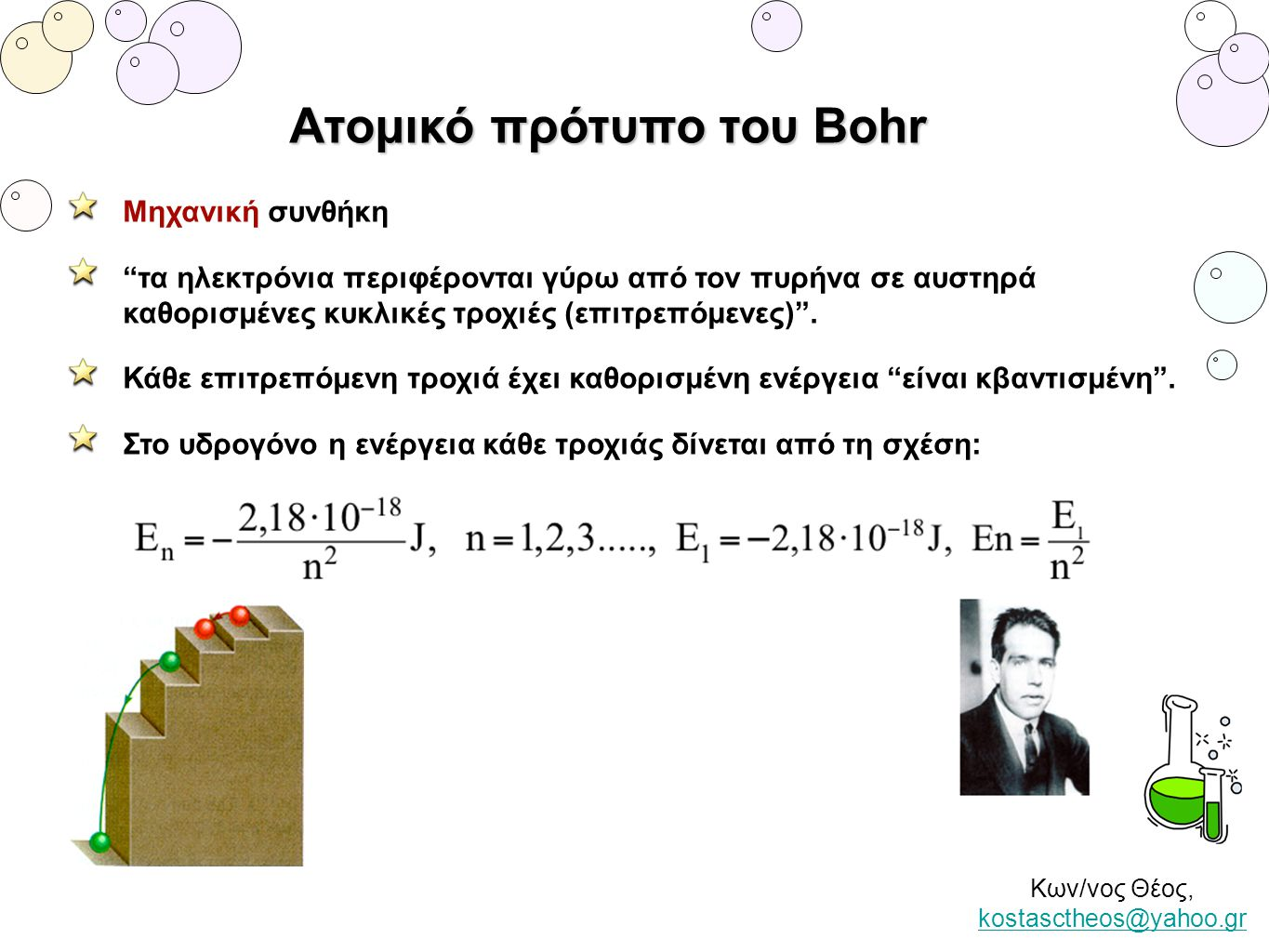 Ατομικό πρότυπο του Bohr
