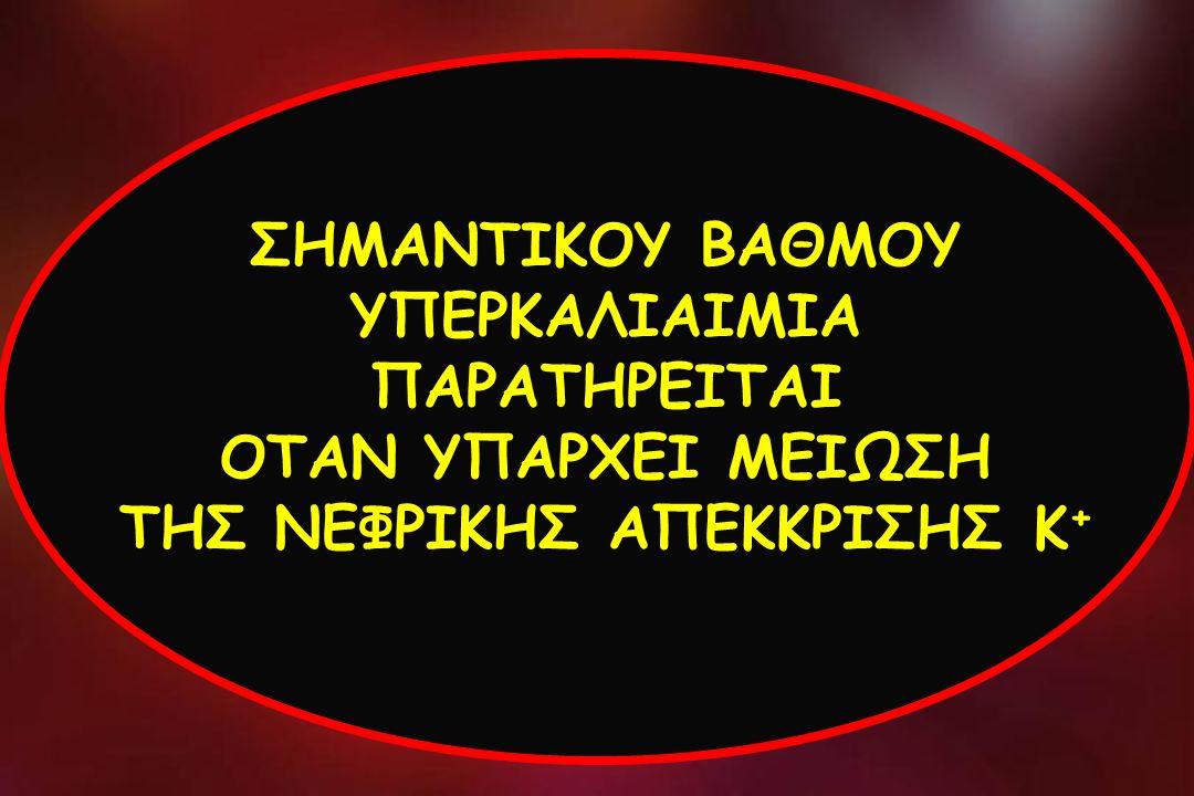 ΣΗΜΑΝΤΙΚΟΥ ΒΑΘΜΟΥ ΥΠΕΡΚΑΛΙΑΙΜΙΑ ΠΑΡΑΤΗΡΕΙΤΑΙ