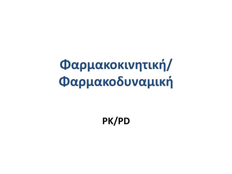 Φαρμακοκινητική/ Φαρμακοδυναμική