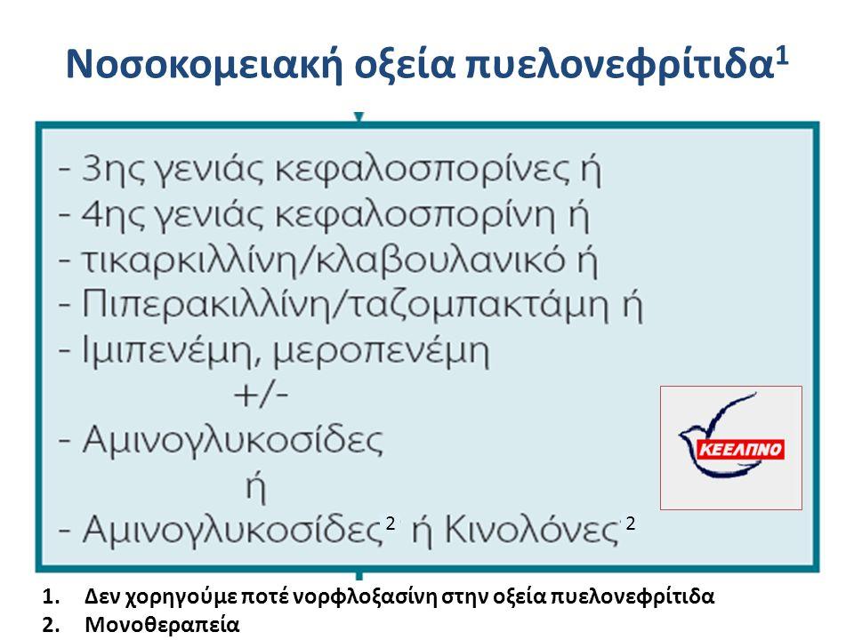 Νοσοκομειακή οξεία πυελονεφρίτιδα1